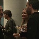Tibor Kocsis and the audience - reception — in San Francisco, California.