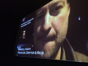 """Skype interview with Marcell Ivanyi producer """"Drifter"""""""